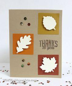 Season of Gratitude Paper Pumpkin 2016 October at WildWestPaperArts.com