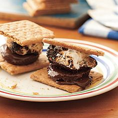 Grilled Peanut Butter S'Mores...thank us later :)