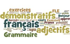 This is a fun game to practice demonstrative adjectives, and though I've included vocabulary for four categories (family, school, restaurant, voyag. French Teaching Resources, Teaching French, Teaching Ideas, Les Adjectifs Possessifs, Core French, French Grammar, French Teacher, French Immersion, Restaurant