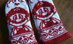 pattern by Starlight Honeymoon Creations Mittens Pattern, Knit Mittens, Double Knitting Patterns, Crochet Patterns, Crochet Gloves, Knit Crochet, Knitting Needles, Baby Knitting, Fair Isle
