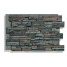 Quality faux stone panels, realistic faux brick and stone wall panels for less. Easy to install stone veneer panels. Stone Siding Panels, Faux Stone Siding, Faux Stone Walls, Stone Veneer Panels, Faux Brick, Stone Veneer Exterior, Stone On House Exterior, Stone Facade, Graphite