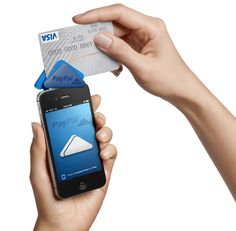 PayPal has just launched a new mobile payment system called PayPal Here. The triangle-shaped device plugs into your smartphone's earphone jack and lets anyone accept credit cards. Designed by Yves Behar of fuseproject, the triangle front slides down to prevent the device from spinning around while swiping the card.