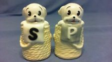 VINTAGE CARTOON BETTY BOOP PUDGY DOGS  SALT AND PEPPER SET