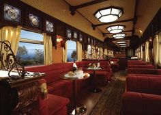 Onboard of Luxury Trains: the new Trans-Siberian.
