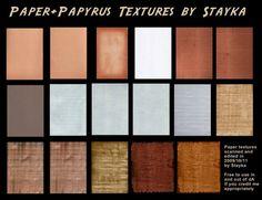 Paper & Papyrus patterns