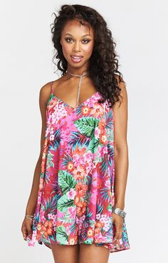 Hey #Mumugirls! You've got to make some room in your closet for the Circus Mini Dress this summer. Beach days, long nights, weekend getaways, date nights, and ladies nights, Circus won't let you down. She's even reversible! Just like Brittney said, if you want all eyes on you in the center of the ring, wear a circus!   *MADE IN THE GORGE USA* *100% Poly *Adjustable Straps *Lined *Can be worn backwards for a different neckline! *Basically Wrinkle-proof. Throw in purse for later recommended...