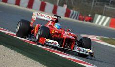 Ferrari de 2012.