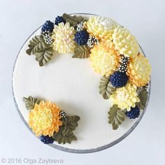Mẫu bánh hoa