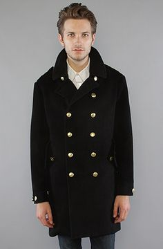 This coat is sick! And not too showy, I might add.