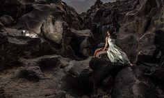Joanne at Fossil Falls