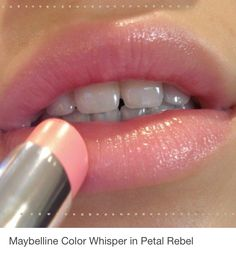 Maybelline Color Whisper in Petal Rebel-- So soft and pretty, guys love this color and think it's natural-- moisturizes your lips too.Risultati immagini per maybelline olive skinDark Matte Lipstick - January 26 2019 atLip Magic: Tips for LipsSoft Pin Maybelline Color Whisper, Lipstick Colors, Lip Colors, Matte Lipstick, Lipstick Pencil, Maybelline Lipstick, Burgundy Lipstick, Rose Lipstick, Pink Lipsticks