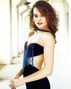 Daisy Ridley_ the Elle USA photoshoot
