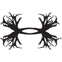 Under Armour 6 Inch UA Logo Decal Black