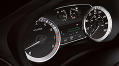 2014 NISSAN SENTRA Fine Vision electroluminescent gauges