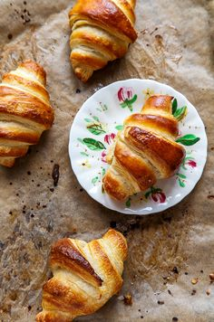 Homemade Croissants recipe from @dessertfortwo