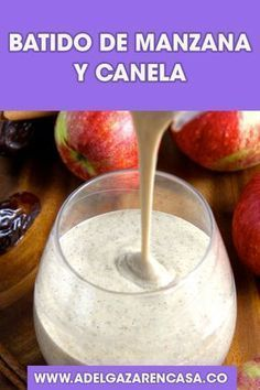 Healthy Juices, Healthy Smoothies, Healthy Drinks, Smoothie Recipes, Healthy Recipes, Oat Smoothie, Oatmeal Smoothies, Kefir, Morning Food