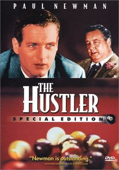 Directed by Robert Rossen.  With Paul Newman, Jackie Gleason, Piper Laurie, George C. Scott. An up-and-coming pool player plays a long-time champion in a single high-stakes match.