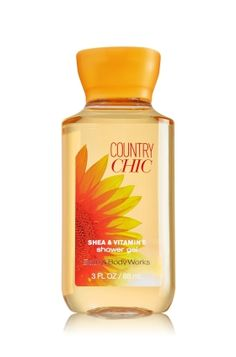 Favor idea - Country Chic Travel Size Shower Gel - Signature Collection - Bath & Body Works