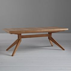 Buy Matthew Hilton for Case Cross 6-12 Seater Extending Dining Table Online at johnlewis.com