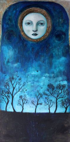 quienesesachica:  Moonlight by Felicia Olin