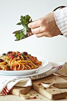 la pancia del lupo: Spaghetti alla puttanesca