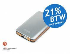 Xtorm Power Bank 7300 AL-370   Trendy look + 7300mAh batterij   Solar Power Supply