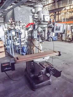 Online Machine Tool Auctions – Results: BRIDGEPORT MILLING MACHINE - Accelerated Buy Sell - Manufacturing News