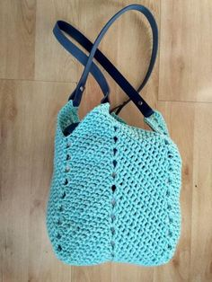 Market Bag, Textile Art, Lana, Knit Crochet, Crochet Patterns, Textiles, Knitting, Diy, Inspiration