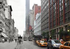 L'ancien et le nouveau Manhattan