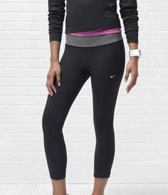 Nike Epic Run Cropped Running Tights - Women's