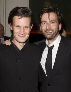 Doctor who's 10 & Matt Smith and David Tennant 11th Doctor, Good Doctor, Virginia Woolf, Laurence Fox, David Tennant Doctor Who, Scottish Actors, Torchwood, Matt Smith, Time Lords