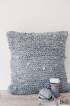 knitted denim
