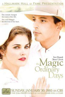 "The Magic of Ordinary Days ~ ""Pregnant out of wedlock, an educated young woman is pressured by her father into an arranged marriage with a lonely farmer in this drama set during WWII."""