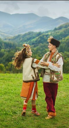 Carpathian young couple, W Ukraine, from Iryna #PutDownYourPhone #Carde