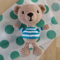 This teddy bear has a new home!!!