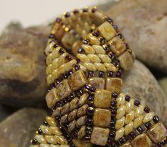 Beautiful Twin Wiggle Bracelet by ReggiesCreations on Etsy, $30.00