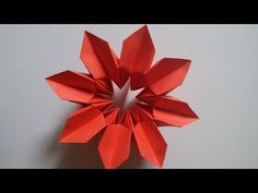 HOW TO FOLD AN ORIGAMI MAGICAL FLOWER! - Lawrence de Galan Origami - YouTube
