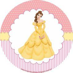 Inspire sua festa: Princesas Disney - Kit de artes personalizadas