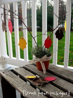 {month of thanksgiving} blessing tree & more...