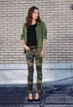 ARMY STYLE.How to wear it? 1.army jacket 2.army coat 3.army parka 4.army style+romantic details 5.army style for business look 6.army details 7.army trousers 8. army dresses 9.army style in different colours