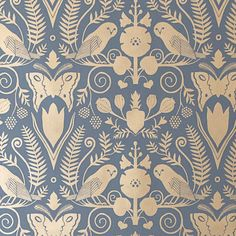 corona wallpaper Juju Papers Barn Owls and Hollyhocks 15 x Wallpaper Roll Tier Wallpaper, Paisley Wallpaper, Brick Wallpaper Roll, Botanical Wallpaper, Embossed Wallpaper, Damask Wallpaper, Wallpaper Panels, Geometric Wallpaper, Print Wallpaper