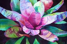 Anne Abgott's Gallery of Water Colors | Flowers / In the Pink