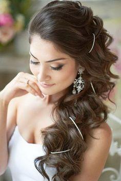 wedding hairstyles | Indian bridal hairstyles 2014 09
