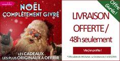 Frais de port Colissimo offerts dès 39€ jusqu'à ce soir sur Passagedudésir.fr : c'est le moment de faire votre shopping de noël ! #offreéclair