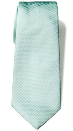 Silk Neck Tie - Mint by Calvin Klein Ties