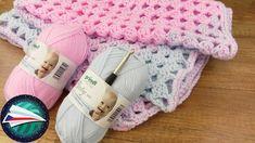 Crocheting a Baby Blanket Crochet Bebe, Crochet Hats, Crochet Simple, Diy Francais, Amigurumi Patterns, Crochet Patterns, Granny Style, Crochet Baby Blanket Free Pattern, Crochet Patron