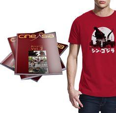 """#PUBLICACIONES #MAGAZINE #ANUARIO #CINEASIA #FILM #CINE #GODZILLA #CAMISETA #CROWDFUNDING  Después de seis años, CineAsia se reencuentra con el papel, una vez al año, en forma de un """"Anuario"""" que recoge lo más significativo de la cinematografía asiática del año: tanto estrenos y novedades acontecidos en los países asiáticos, como los estrenos y lanzamientos que han tenido lugar en España. Crowdfunding verkami…"""