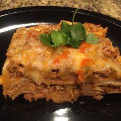 21 day fix Mexican lasagna