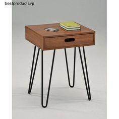 #Ebay #Mid #Century #Modern #Nightstand #Bedroom #Bedside #End #Table #Side #Accent #Retro #Oak #Unbranded