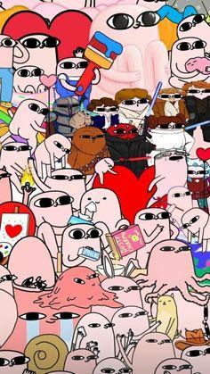 Pink Wallpaper Backgrounds, Funny Phone Wallpaper, Phone Wallpapers, Dream Big, Emoji, Peanuts Comics, Snoopy, Memes, Drawings